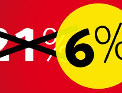 6% BTW
