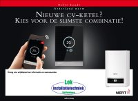 Nefit Trendline cv ketel met gratis thermostaat