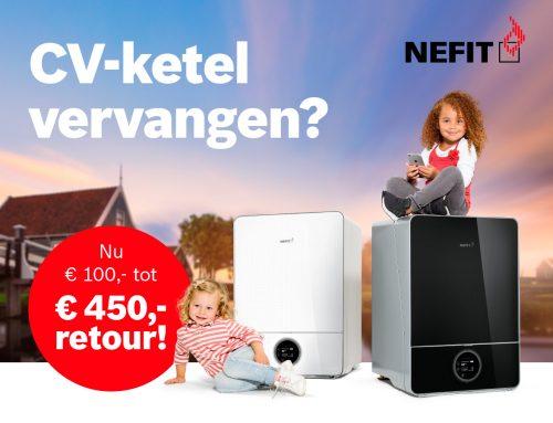 Nieuwe Nefit actie: geld besparen én duurzaam wonen