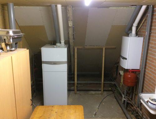 Luchtwarmtepomp groepsaccommodatie en woning in Vollenhove